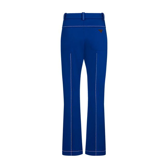 Louis Vuitton Flared Low Crotch Pants back view