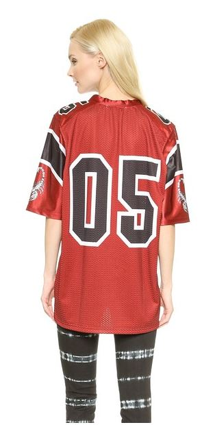 Rodarte Football Jersey back view