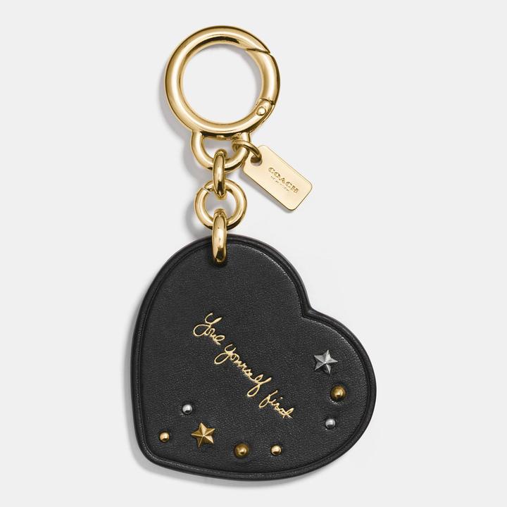 Selena Heart Bag Charm