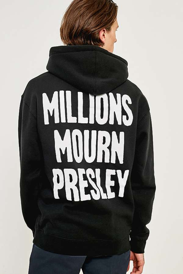 Urban Outfitters PLEASURES Memorial Hoodie back view
