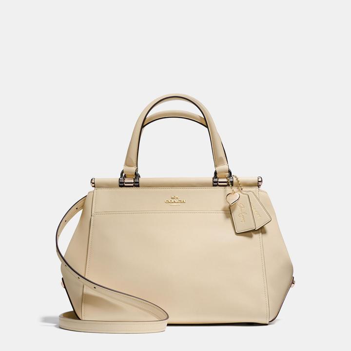 Coach Selena Grace bag in Selena White