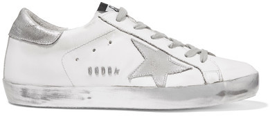 Golden Goose Deluxe Brand - Super Star Distressed Leather Sneakers
