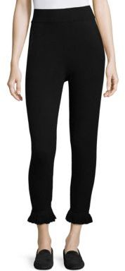 Zoe Jordan Haxel Knitted Cropped Pants