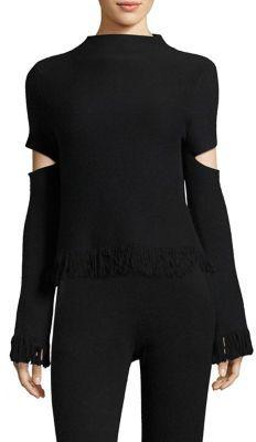 Zoe Jordan LaplaceHigh Neck Knitted Sweater