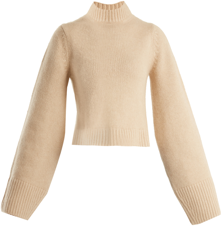 Khaite Mirren high-neck cashmere sweater