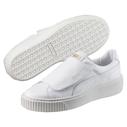 Puma Basket Platform Big Strap Sneakers