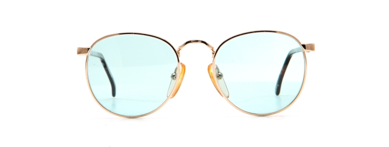 Vintage Frames 'Famous' in mint green