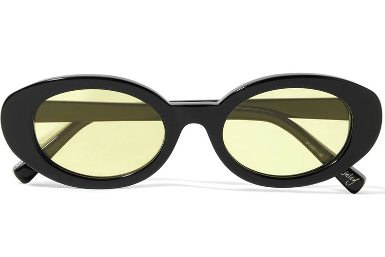 Elizabeth and James  'Mckinley_ Oval-frame Acetate Sunglasses