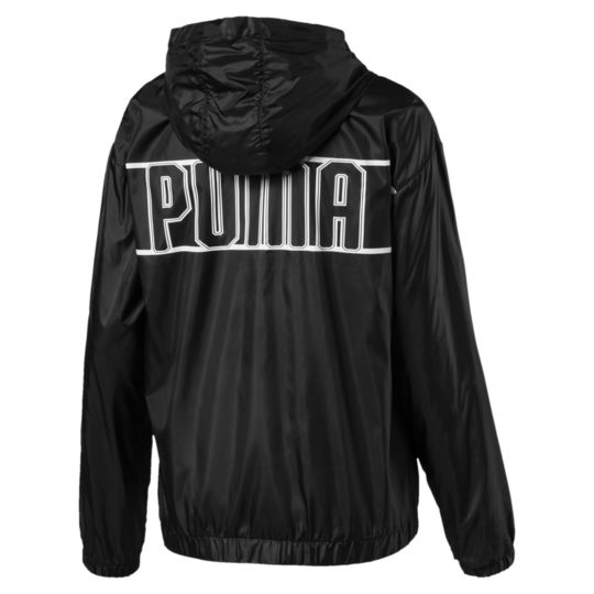 Puma Women_s Spark ¾ Zip Hooded Jacket back view