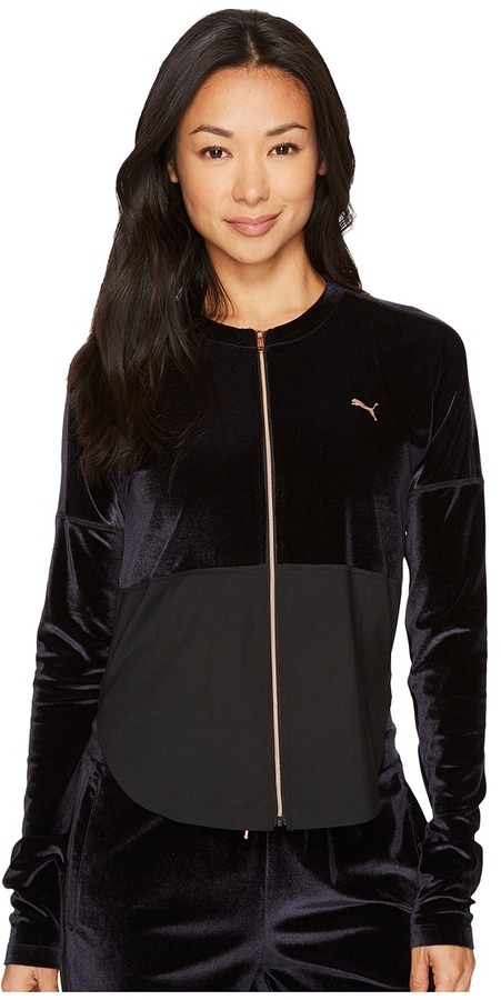 Puma Active Training Women's Velvet Statement Jacket