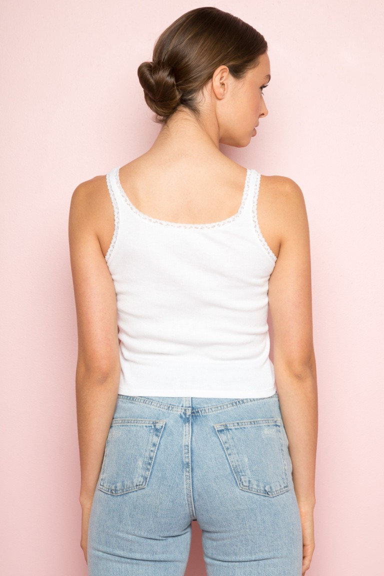 Brandy Melville Ronnie tank back view