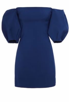 Cushnie et Ochs Silvia Off the shoulder dress