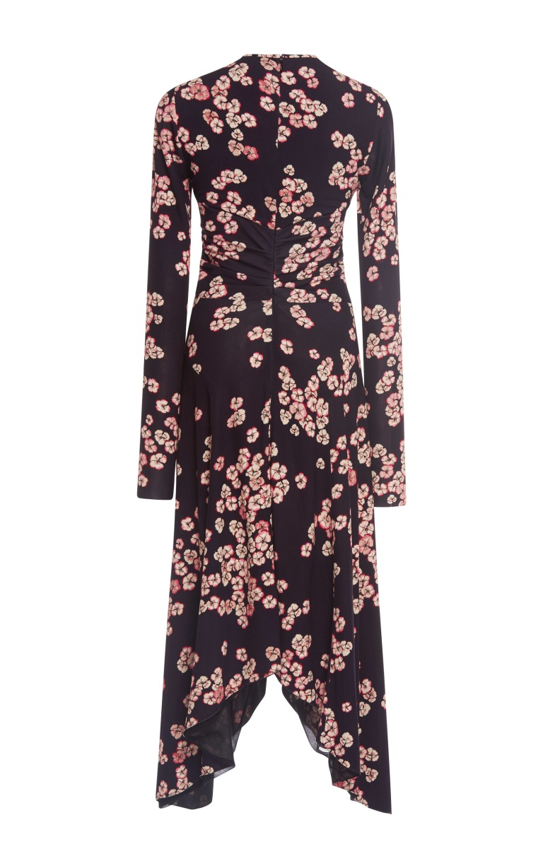 large_isabel-marant-floral-diana-ruched-dress back view