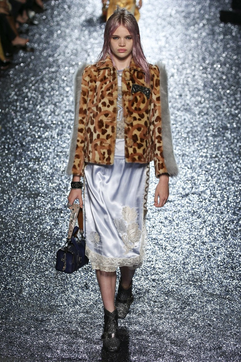 Coach SS18 animal print jacket photo Edward James