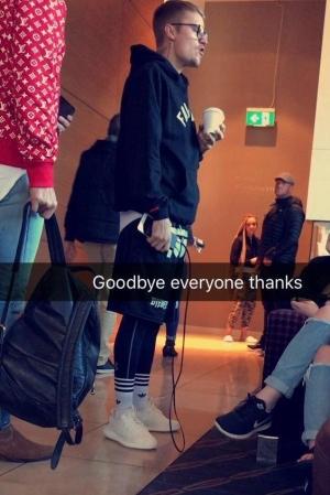 Justin Bieber Fairfax hoodie