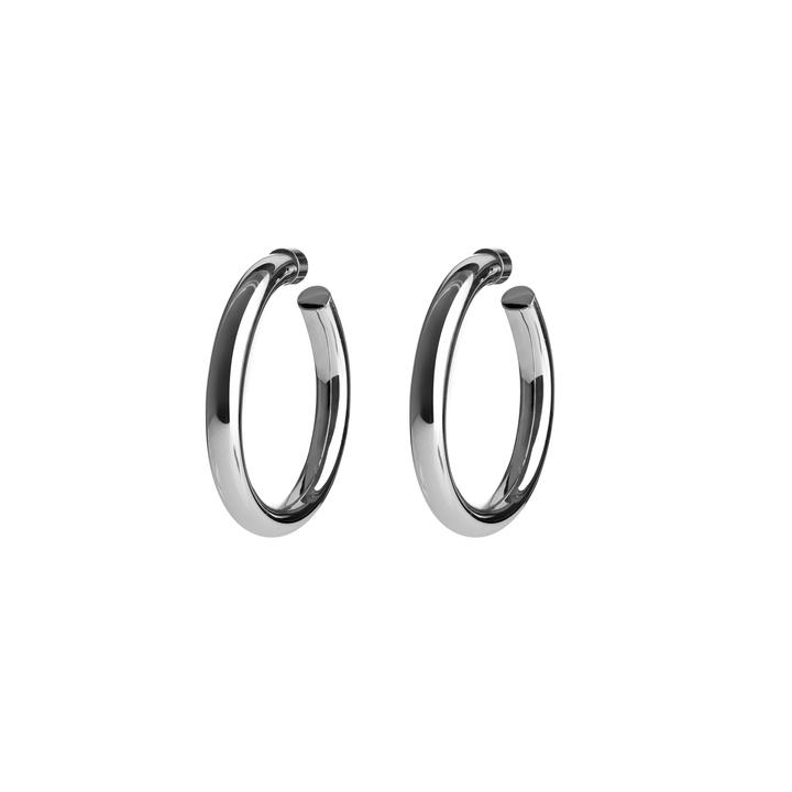 Jennifer Fisher Silver Baby Samira Hoops