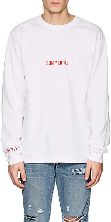 RTA Summer 92 Cotton Long-Sleeve T-Shirt