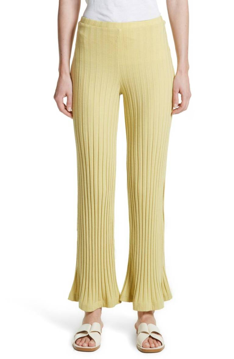 Simon Miller Rian Ribbed Bell Bottom Pants