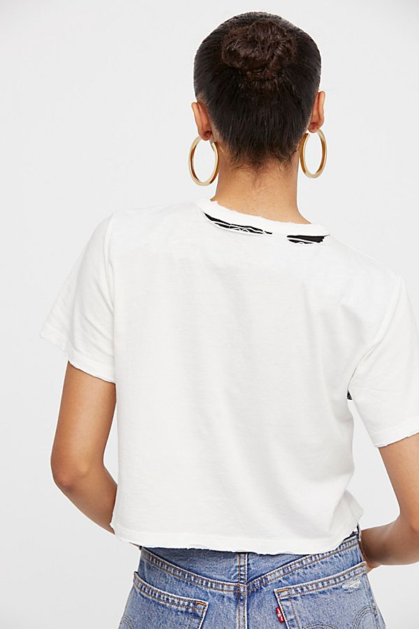 free people bandana band tee back view