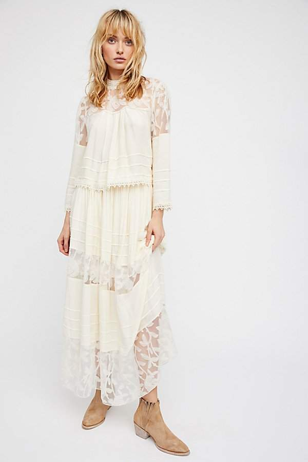 Free People Sunset Midi Set
