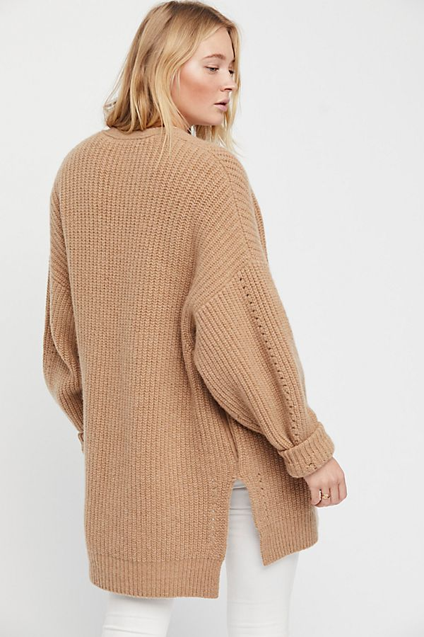Free People Starling Cardi back view