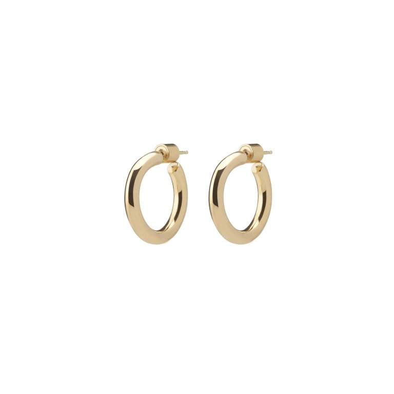 Jennifer Fisher Jewelry Essential Gold Hoops