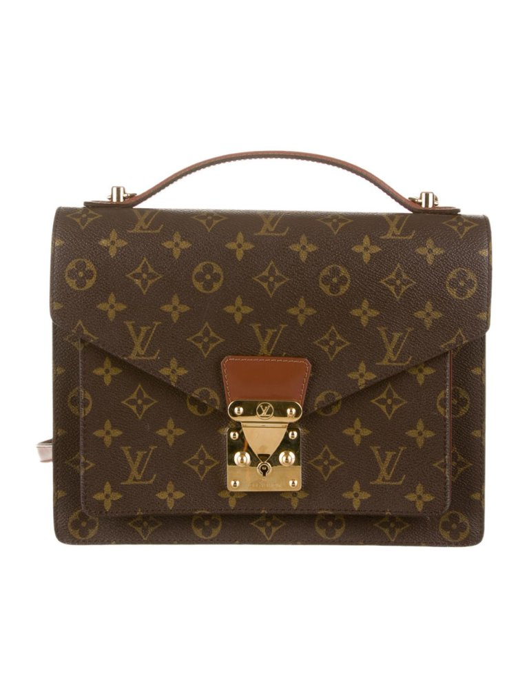 Louis Vuitton Monogram Monceau Handbag