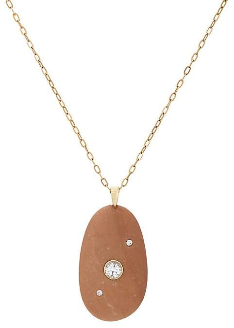 CVC Stones Women's Ruddy Pendant Necklace
