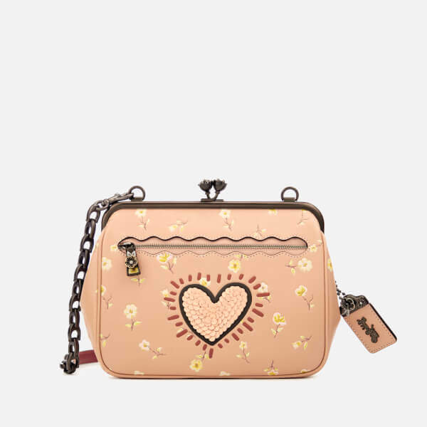 Coach 1941 Women's Coach X Keith Haring Kisslock Cross Body Bag Beechwood