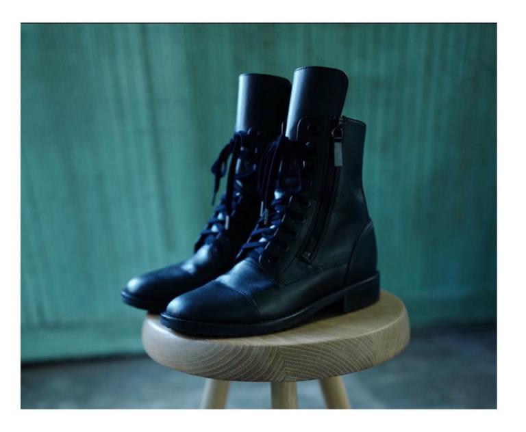 Hanne Moto boots