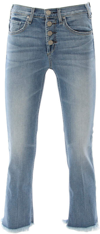McGuire High Rise Cropped Gainsbourg Jeans