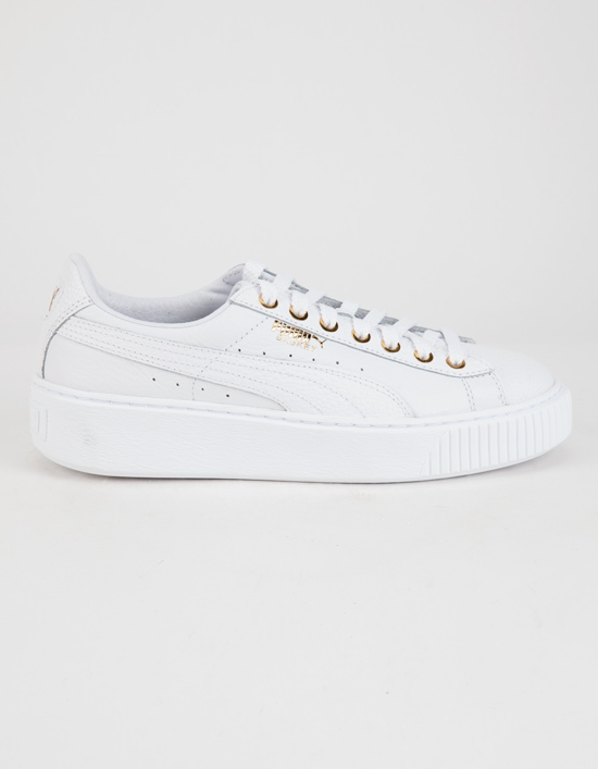 PUMA Basket Platform Pearlized Women_s Shoes