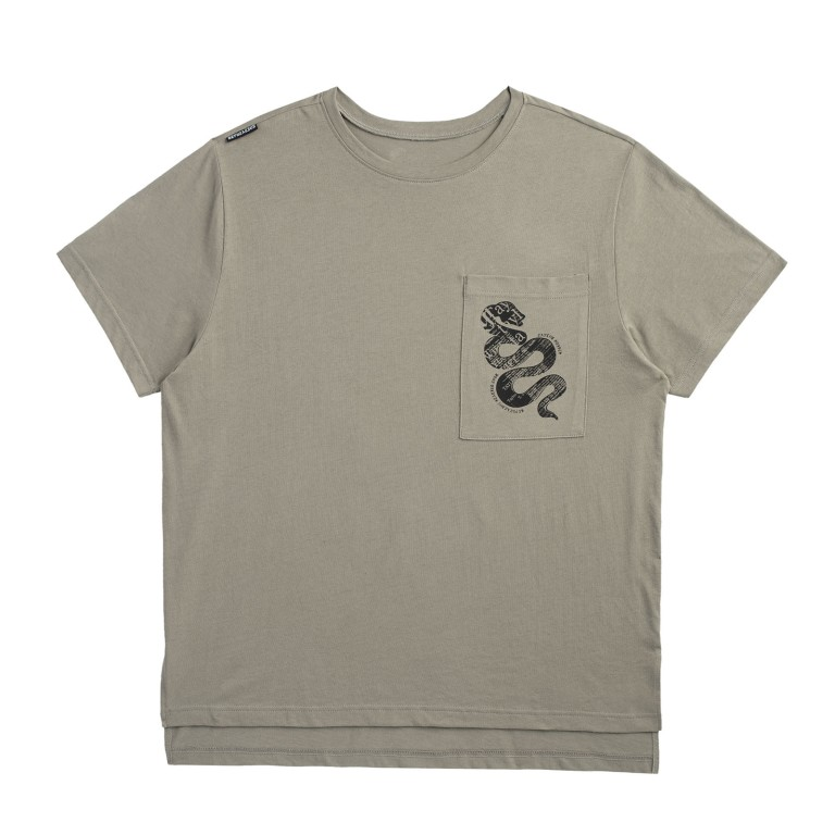 Taylor Swift Green Pocket Tour Tee with Snake Design