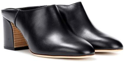 Tods Leather Mules