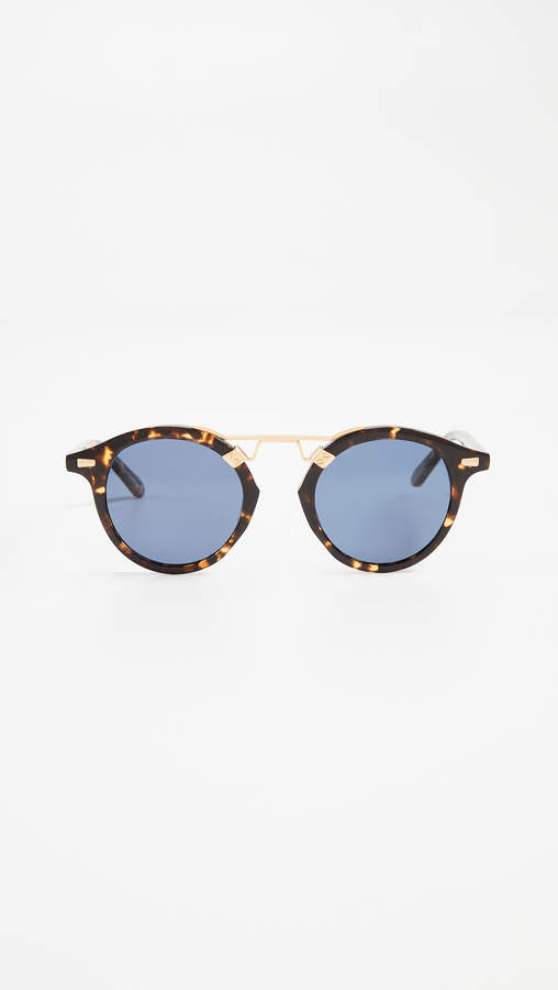 Krewe St. Louis Round Polarized Sunglasses