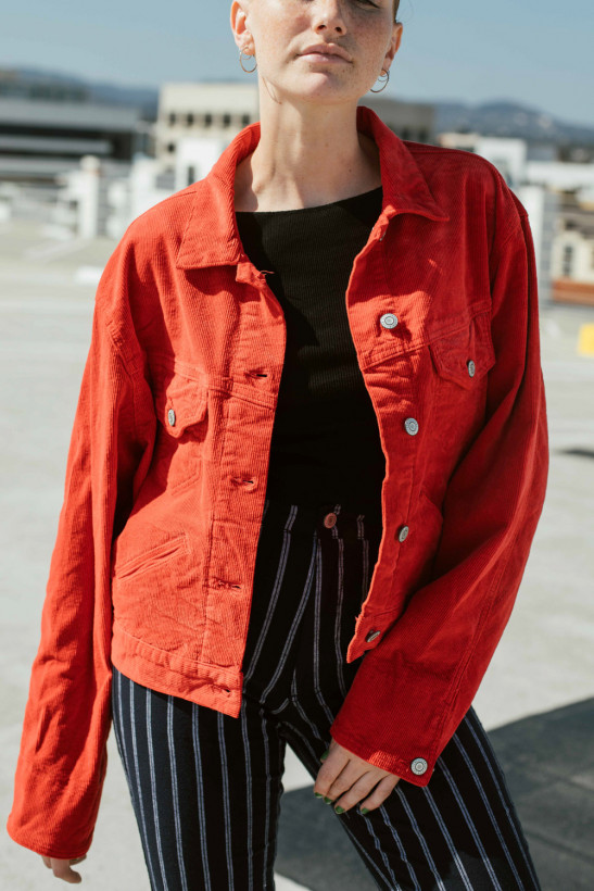 Brandy Melville Mina Corduroy Jacket