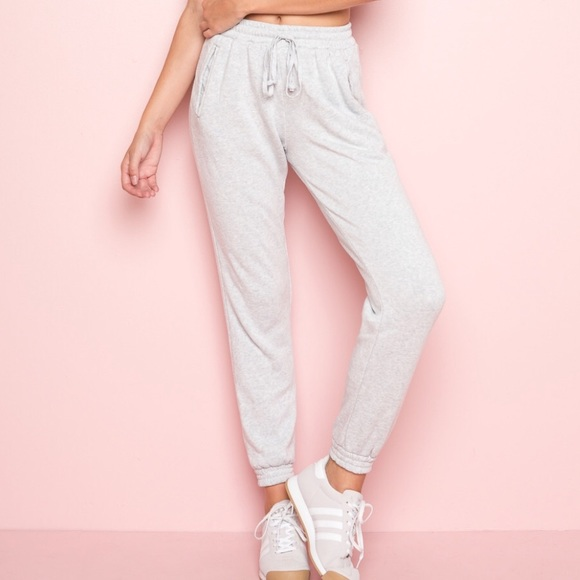 Brandy Melville Rosa Sweatpants heather