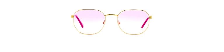 Vintage Frames Detroit Player 18KT Signature Edition Sunglasses
