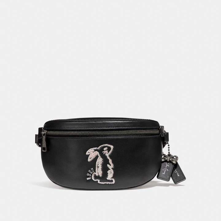 Coach x Selena Belt Bag with Bunny