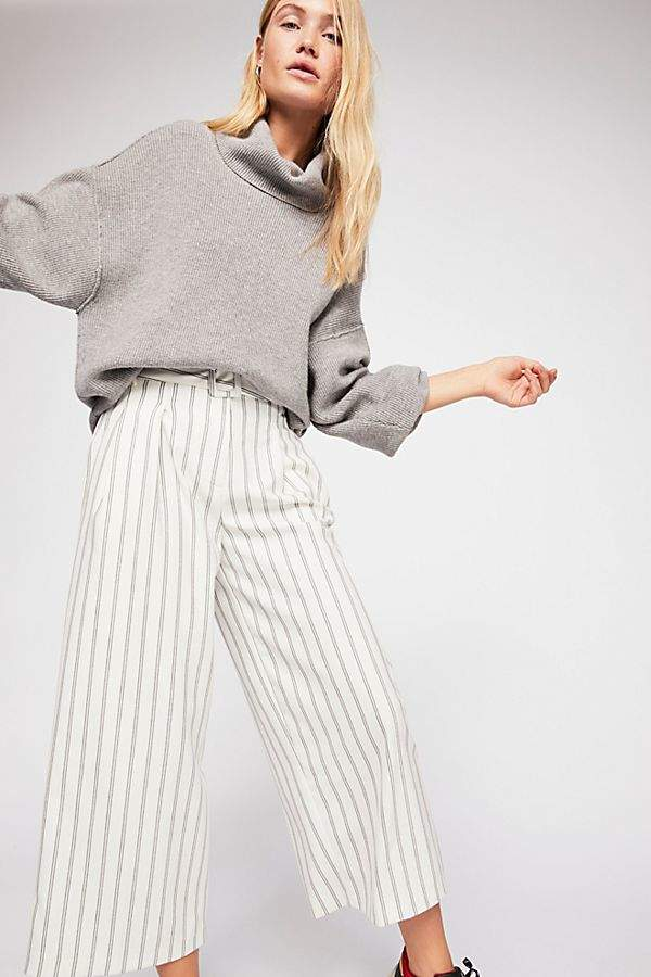 Free People Isla Stripe Trousers