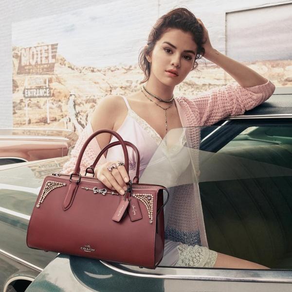 The Selena Bond bag and Selena Bunny Bag Charm