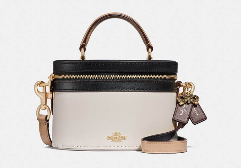 The Coach x Selena Trail bag in Colorblock $295.