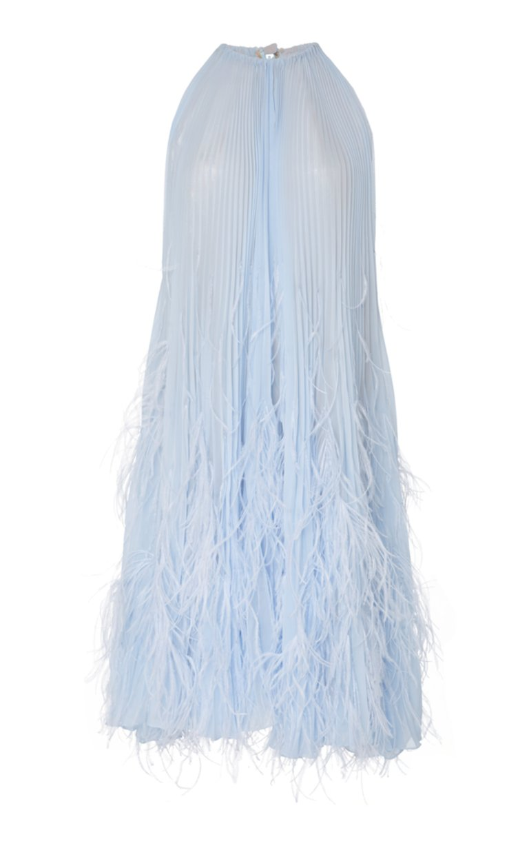 large_oscar-de-la-renta-blue-feather-cocktail-dress