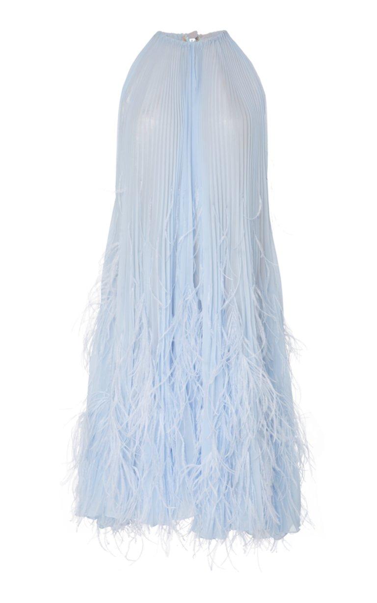 large_oscar-de-la-renta-blue-feather-cocktail-dress