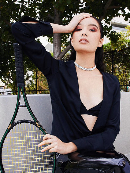 The Tennis court co the rennes necklace