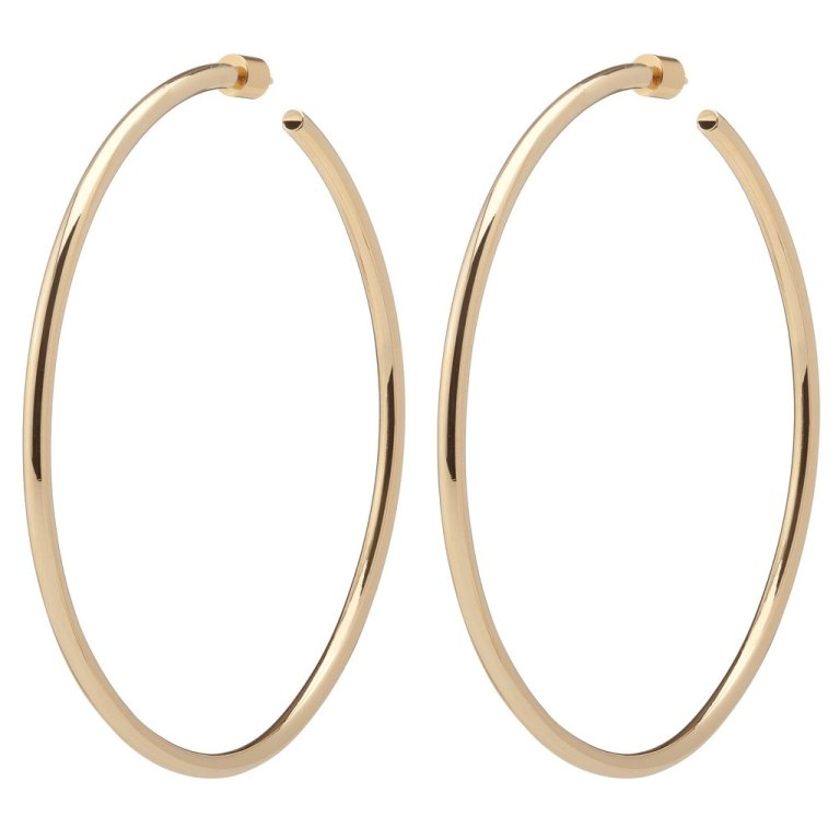 Jennifer Fisher 3 inch Classic Hollow Hoops