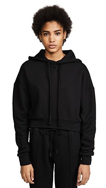 Twenty tees Cropped black hoodie