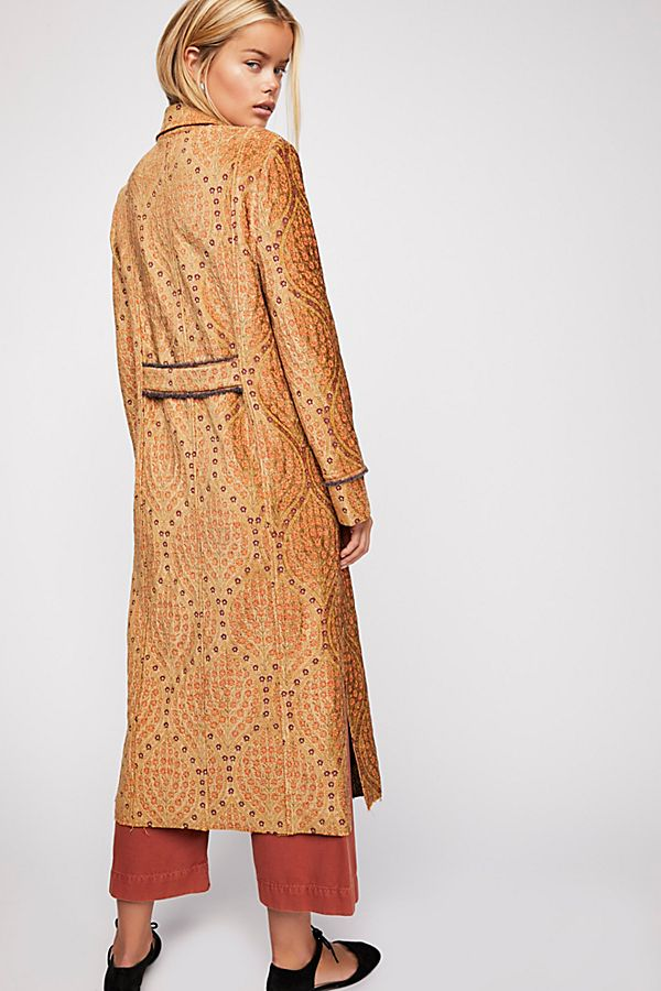 free people out all night coat back view