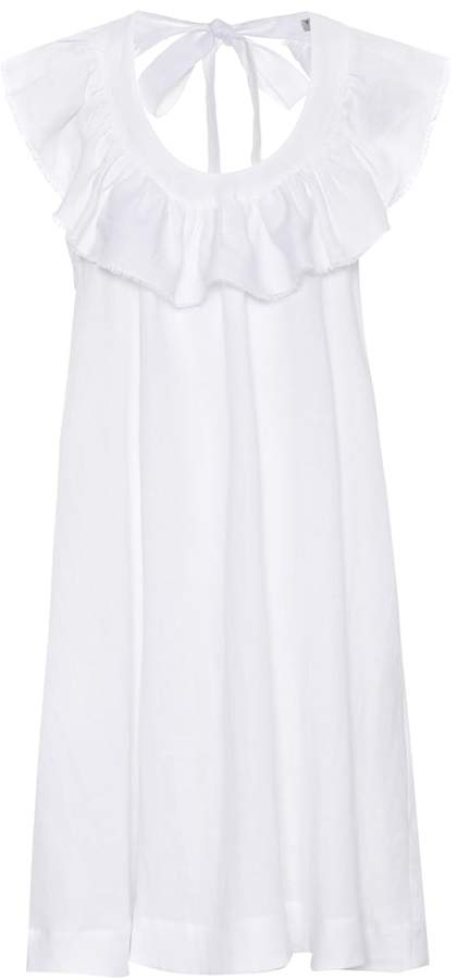 Three Graces London Faye linen dress
