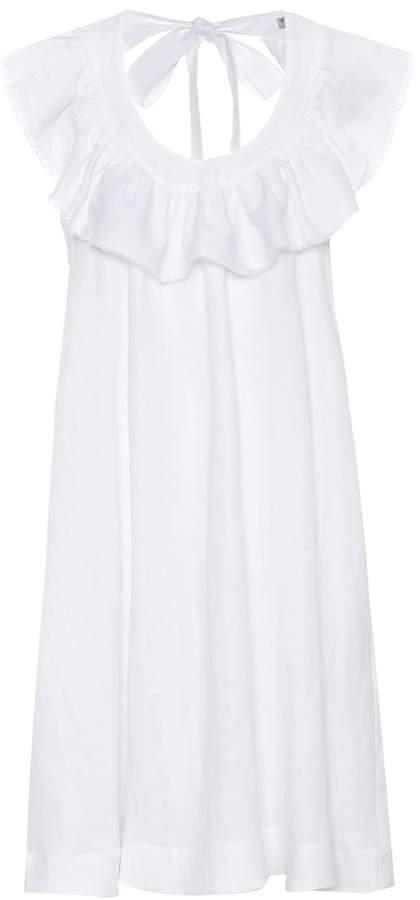 Three Graces London Faye linen dress